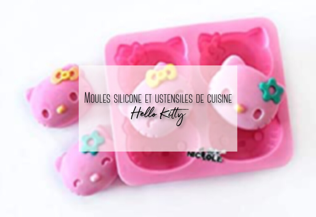moules sillicone hello kitty