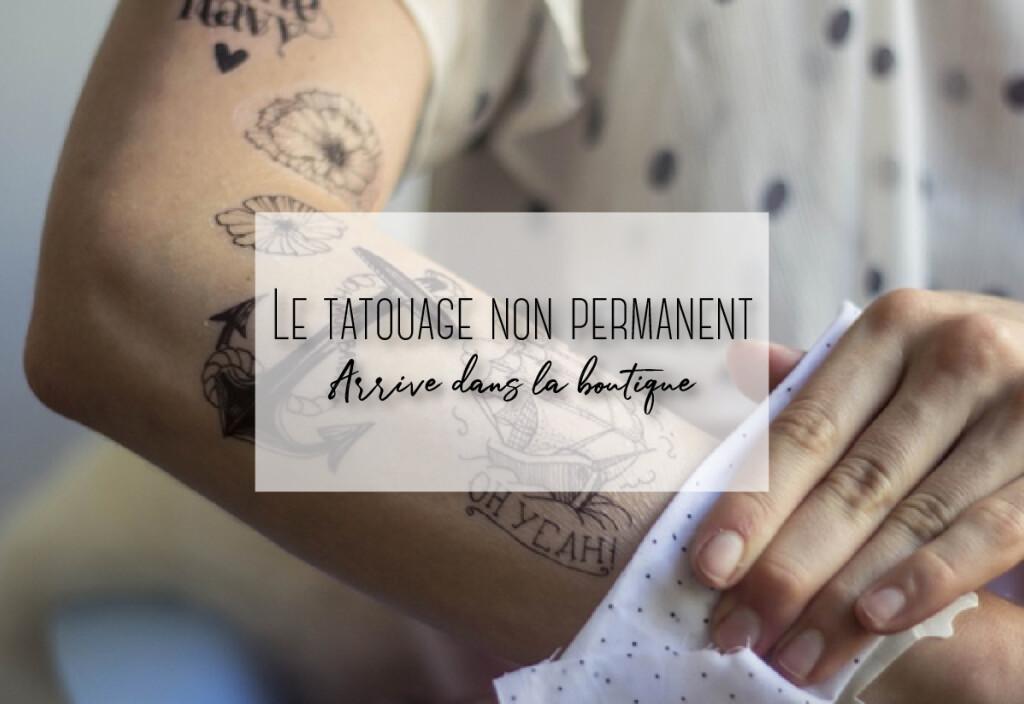 tatouache non permanet