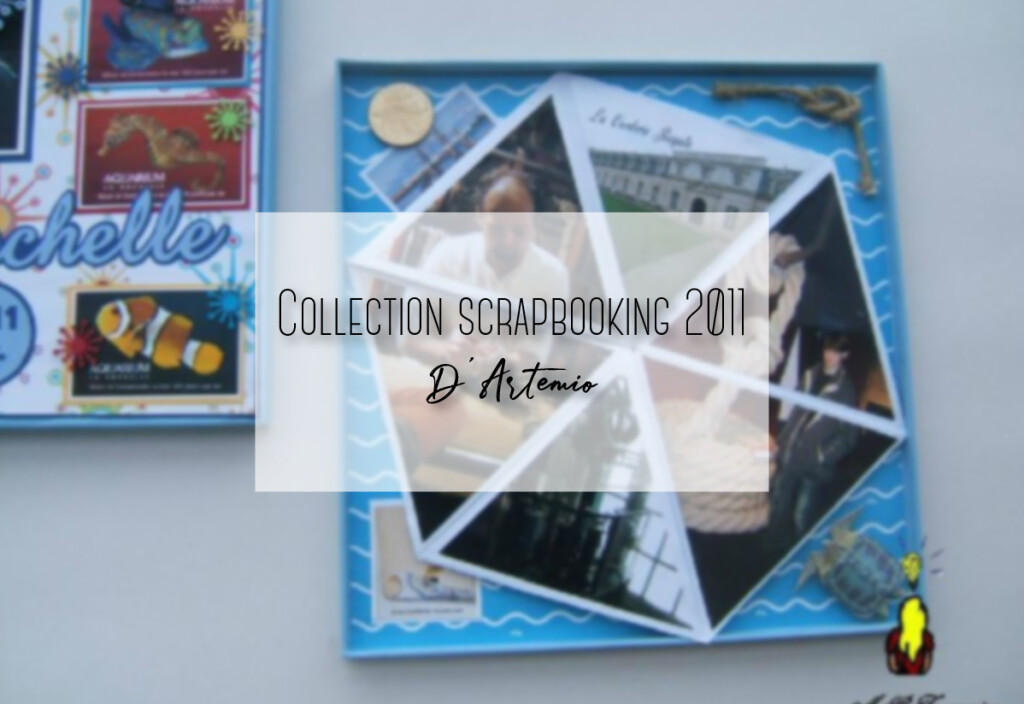 Collection scrapbooking 2011 d'Artemio