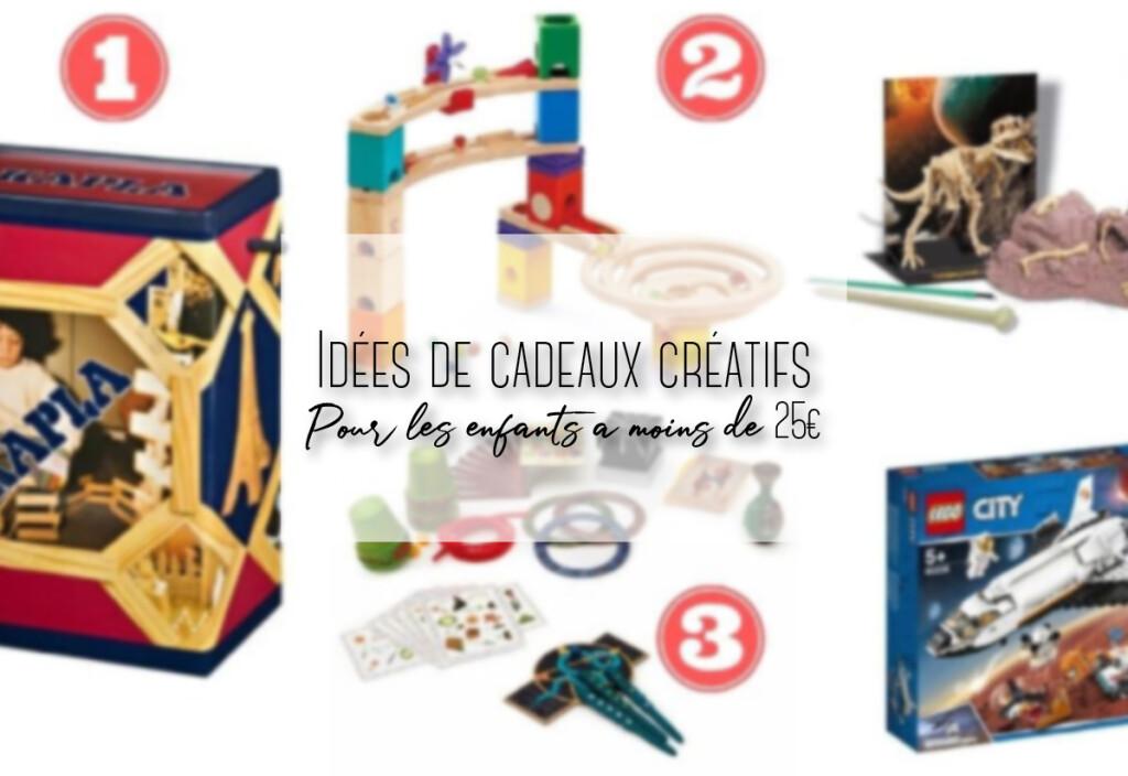 idées de cadeaux creatifs pour enfant