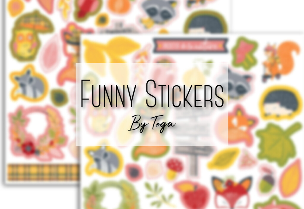 Funny Stickers by Toga
