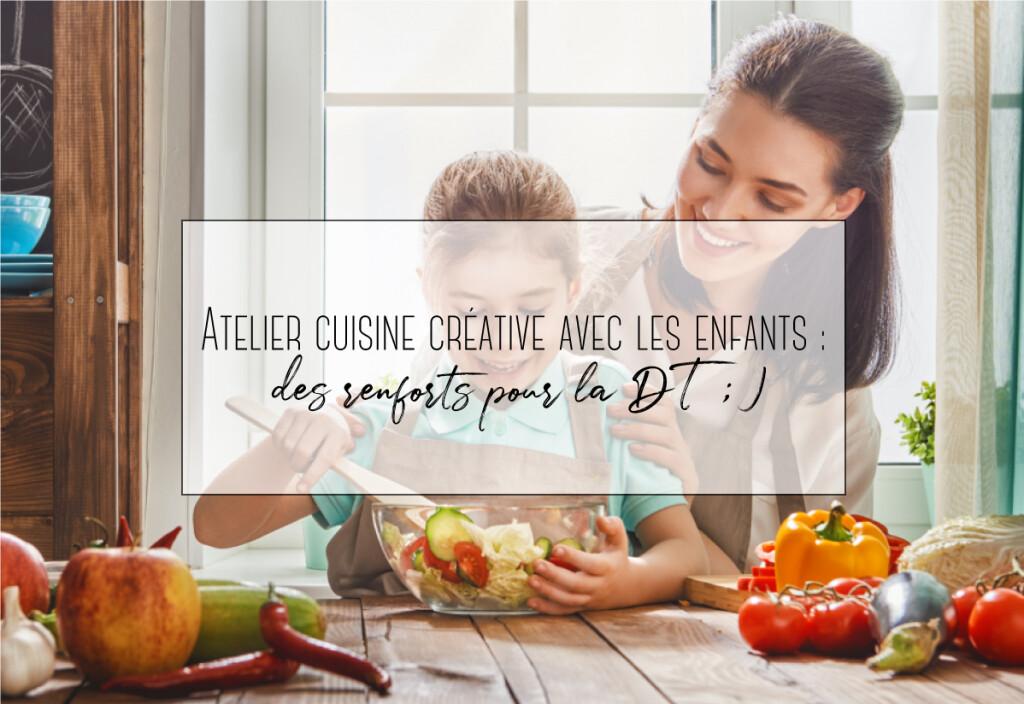 atélier cuisine créative
