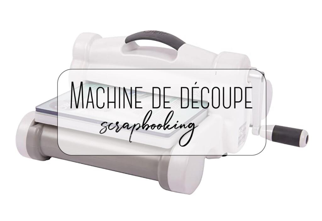 machine de découpe
