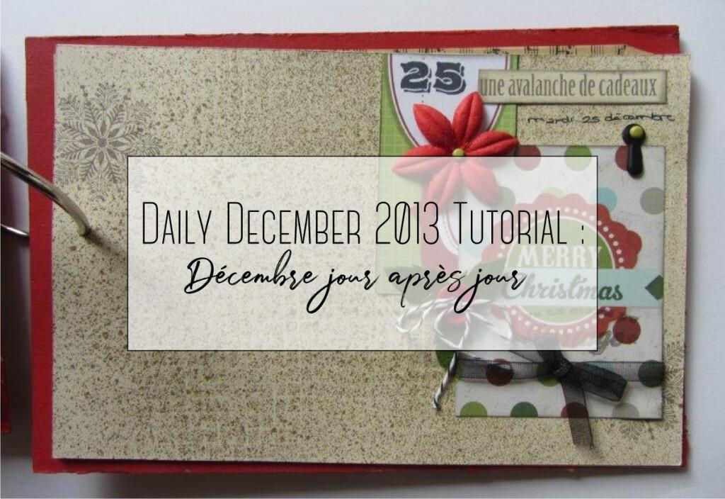 daily december 2013 tutorial