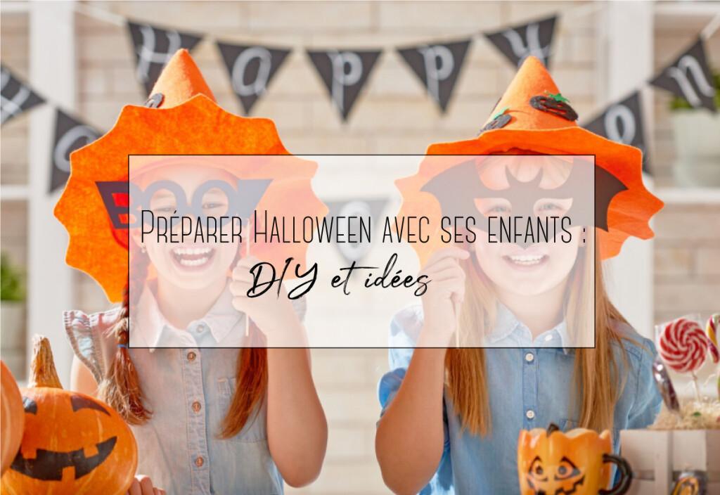 préparer halloween avec ses enfants