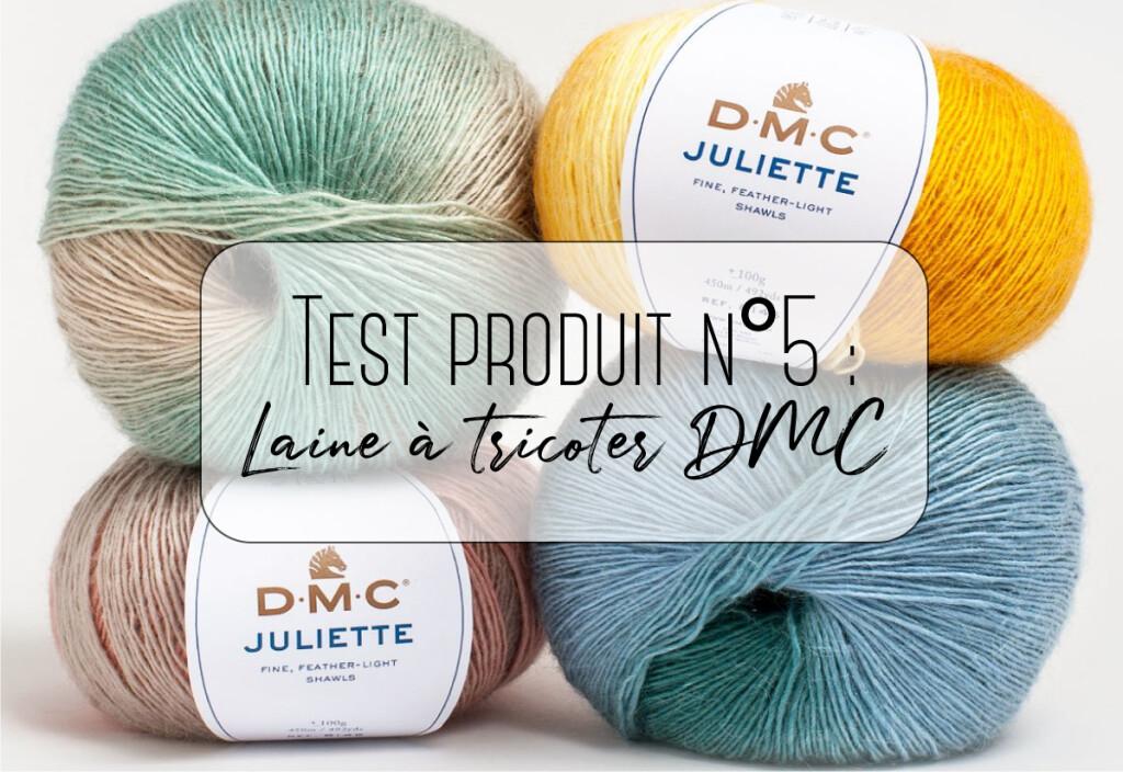 laine à tricoter dmc
