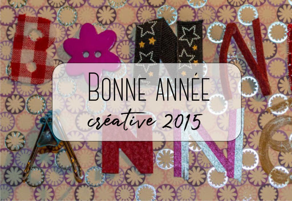 année créative 2015