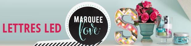 Lettre lumineuse Marquee Love : tendance et originale, indispensable pour votre déco !