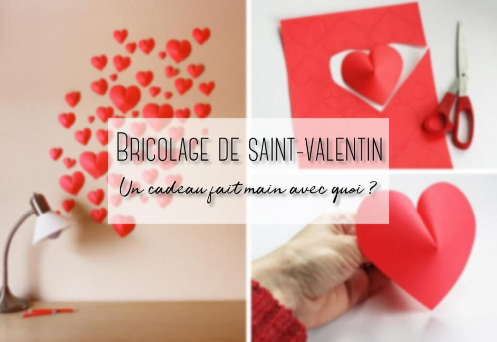 bricolage de saint valentin