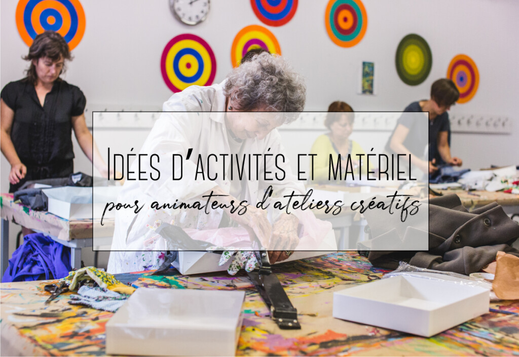 activités et matériel pour animateurs