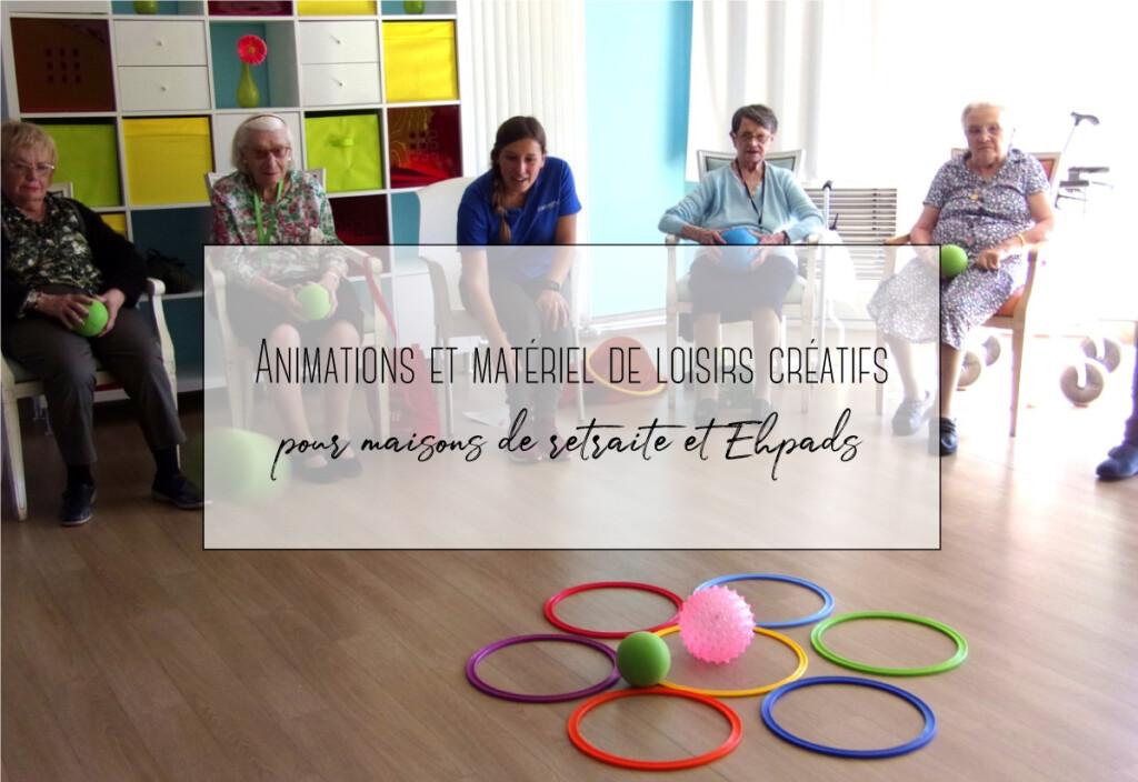 loisirs créatifs pour maison de retraite