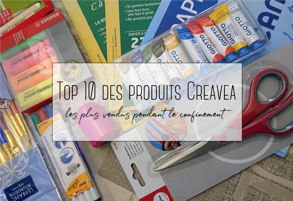 top 10 des produits de creavea