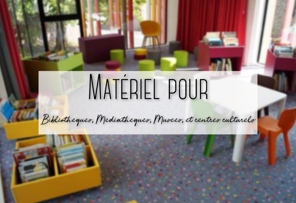 matériel pour bibliothèque