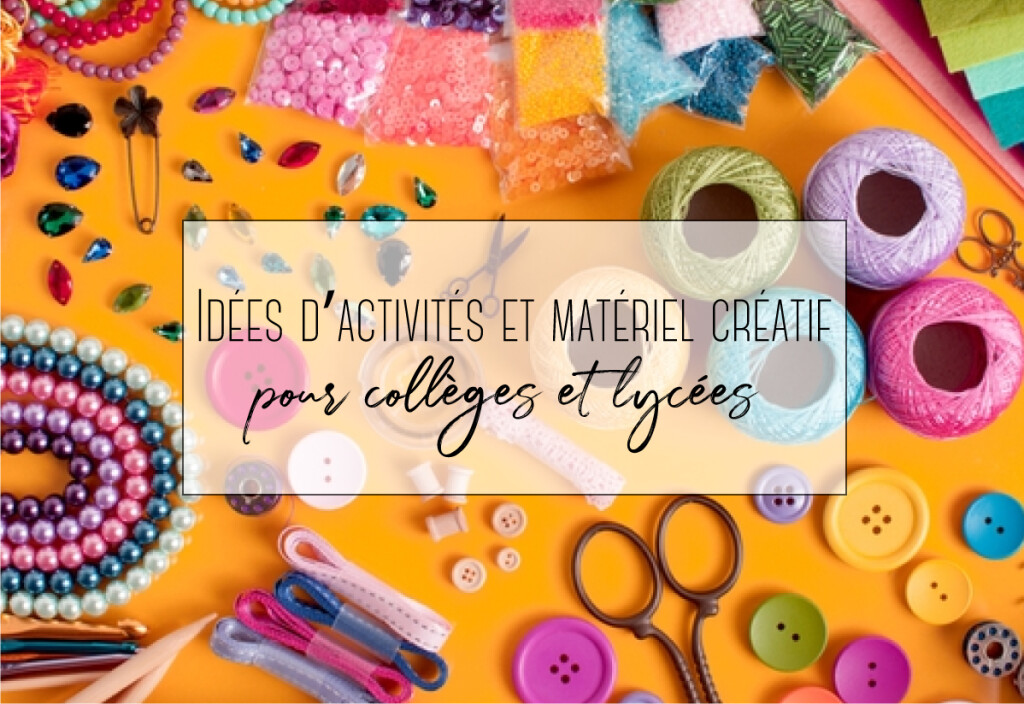 matériel créatif