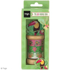 assortiment-de-masking-tape-tropical-green-4-pcs-l-2