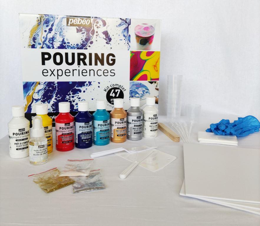 kit pouring experience pébéo
