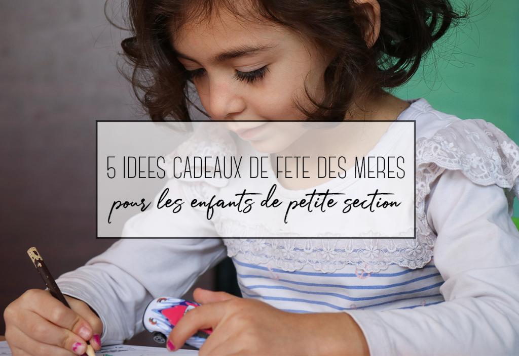 5 idées de bricolage de fête des mères pour petite section de maternelle