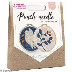 kit-punch-needle-colombe-et-feuillages-15-cm-l