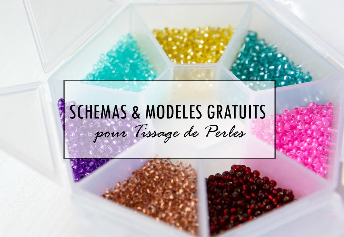 Schémas de tissage pour perles gratuits