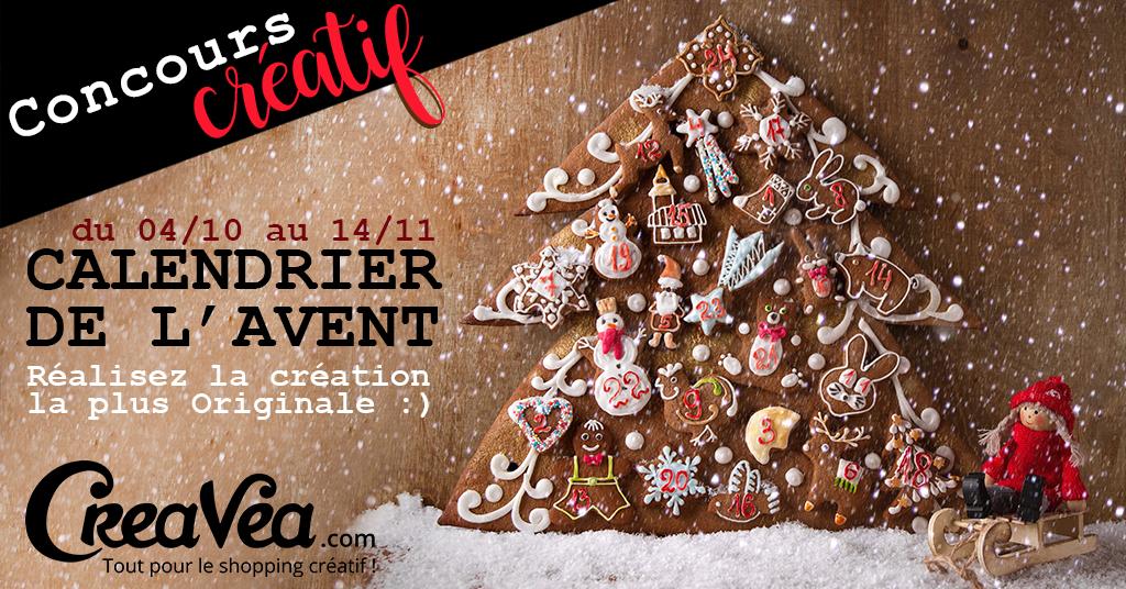 Concours créatif spécial Noël : Calendrier de l'Avent DIY