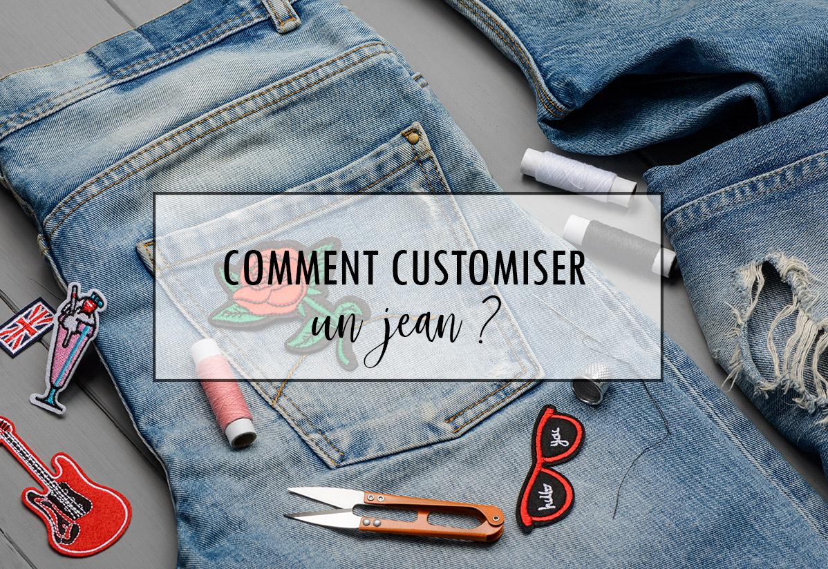 Comment customiser un jean ?