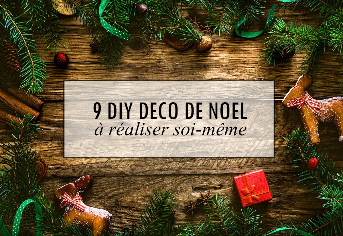 9 DIY Déco de Noël à faire soi-même