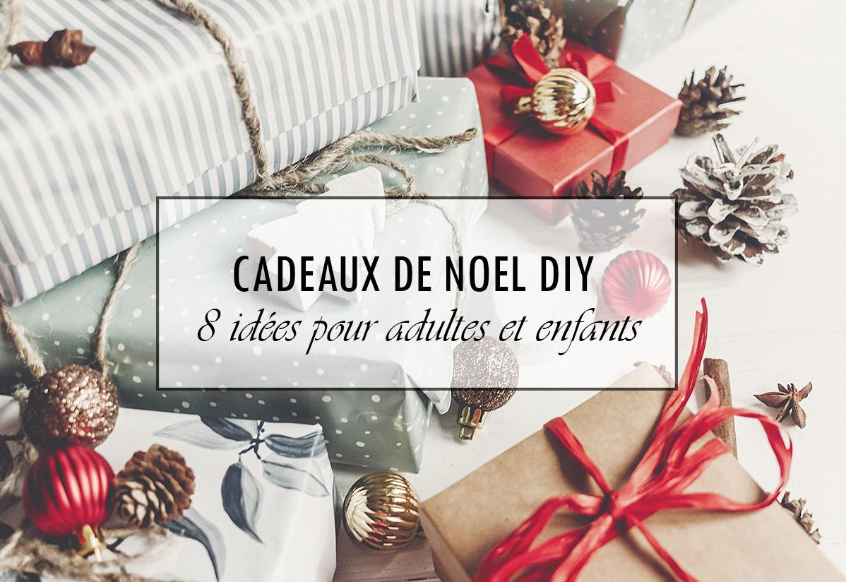 8 idées de cadeaux de Noël DIY