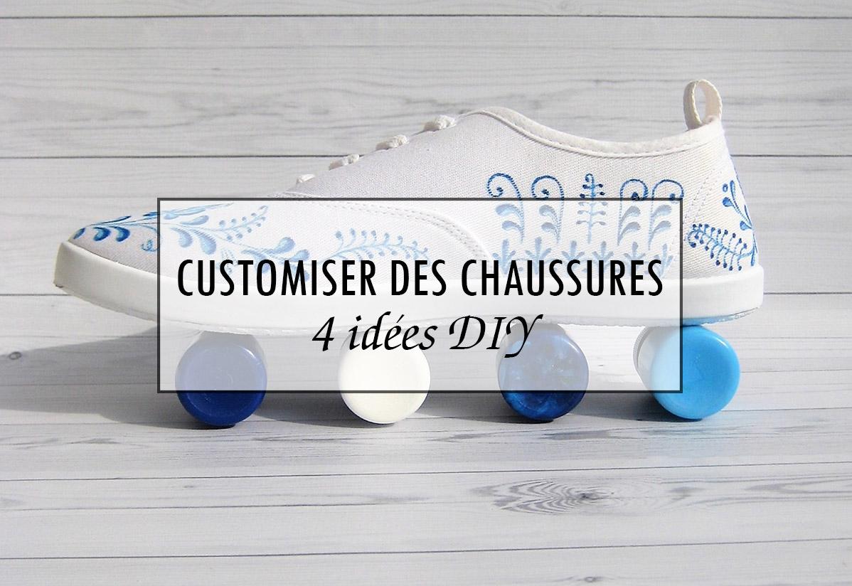 4 idées DIY pour customiser des chaussures