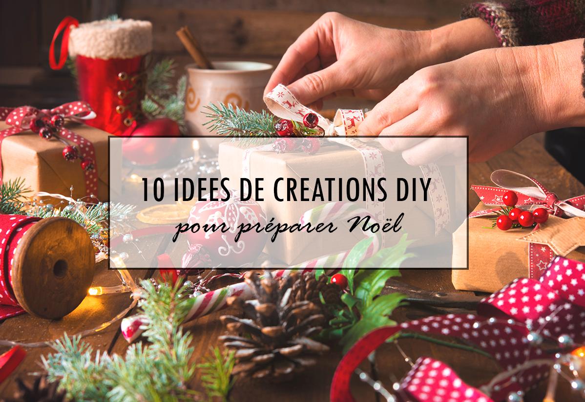 10 idées de créations DIY pour préparer Noël
