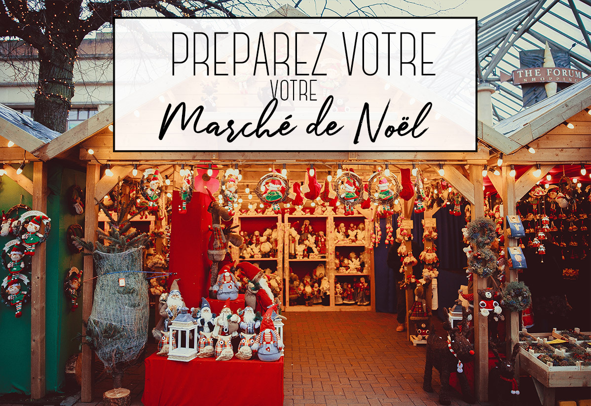 Préparer son marché de Noël : Matériel pour revendeur et artisan