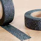 Masking tape pailleté