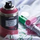 Peinture textile spray