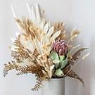Fleurs séchées pour cosmétiques de bain