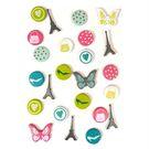 Attache parisienne papillon