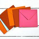 Enveloppe et carte 140 x 140