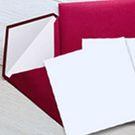 Enveloppe vergée 140 x 140