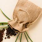 Sachet tissu