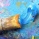 Peinture acrylique mate