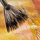 Peinture acrylique métallisée