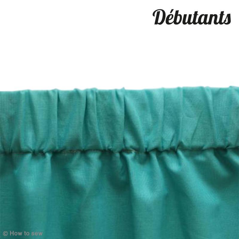 e928f34166b DIY Couture débutant   Réaliser une ceinture élastique froncée - Idées  conseils et tuto Tutos et DIY Couture facile (débutant)
