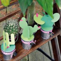 DIY Déco : Fabriquer des cactus en papier