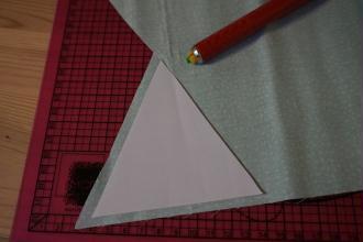 2. Découper les triangles