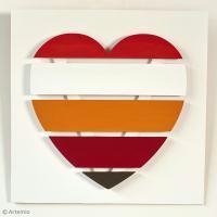 DIY Saint Valentin : Panneau Coeur