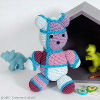 2. Crocheter votre ourson graphique