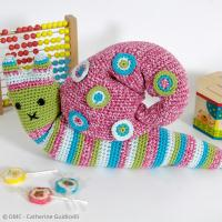 2. Tutoriel crochet : Réaliser un escargot