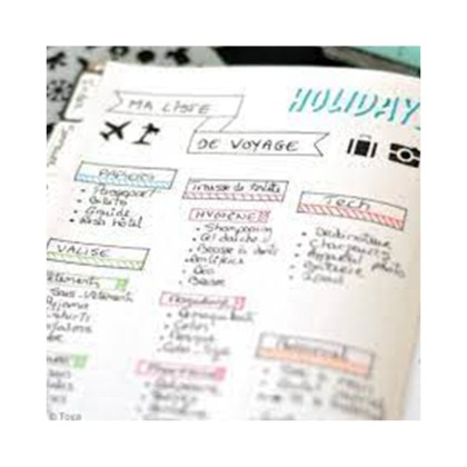 Tuto Inspiration : Les pages de mon Bullet Journal