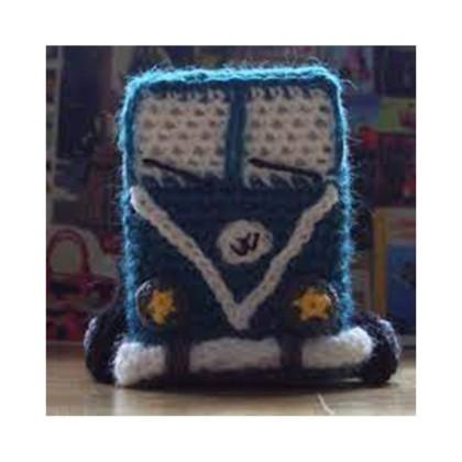 DIY Combi Van au crochet
