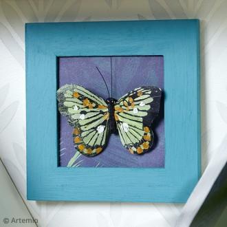 2. DIY Réaliser un cadre déco papillon
