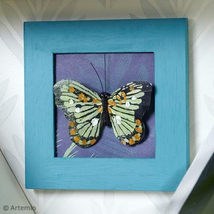 DIY Cadre déco Papillon