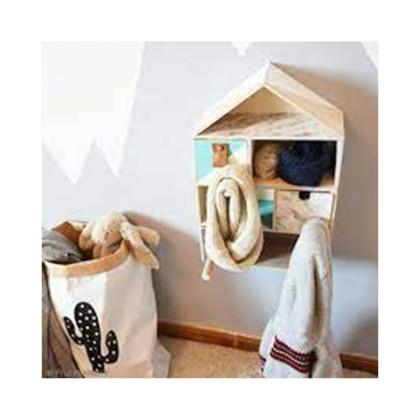 diy porte manteau d co pour chambre d 39 enfant id es. Black Bedroom Furniture Sets. Home Design Ideas